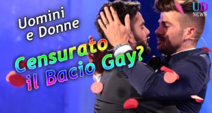 bacio gay censurato