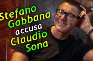 Claudio Sona Stefano Gabbana