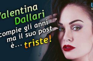 Valentina Dallari Compleanno-Triste