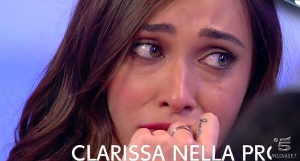 uomini e donne diretta puntata 6 dicembre 2016 claudio dangelo sonia piange