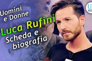 Luca Rufini Uomini e Donne