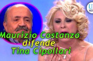 Maurizio Costanzo difende Tina Cipollari
