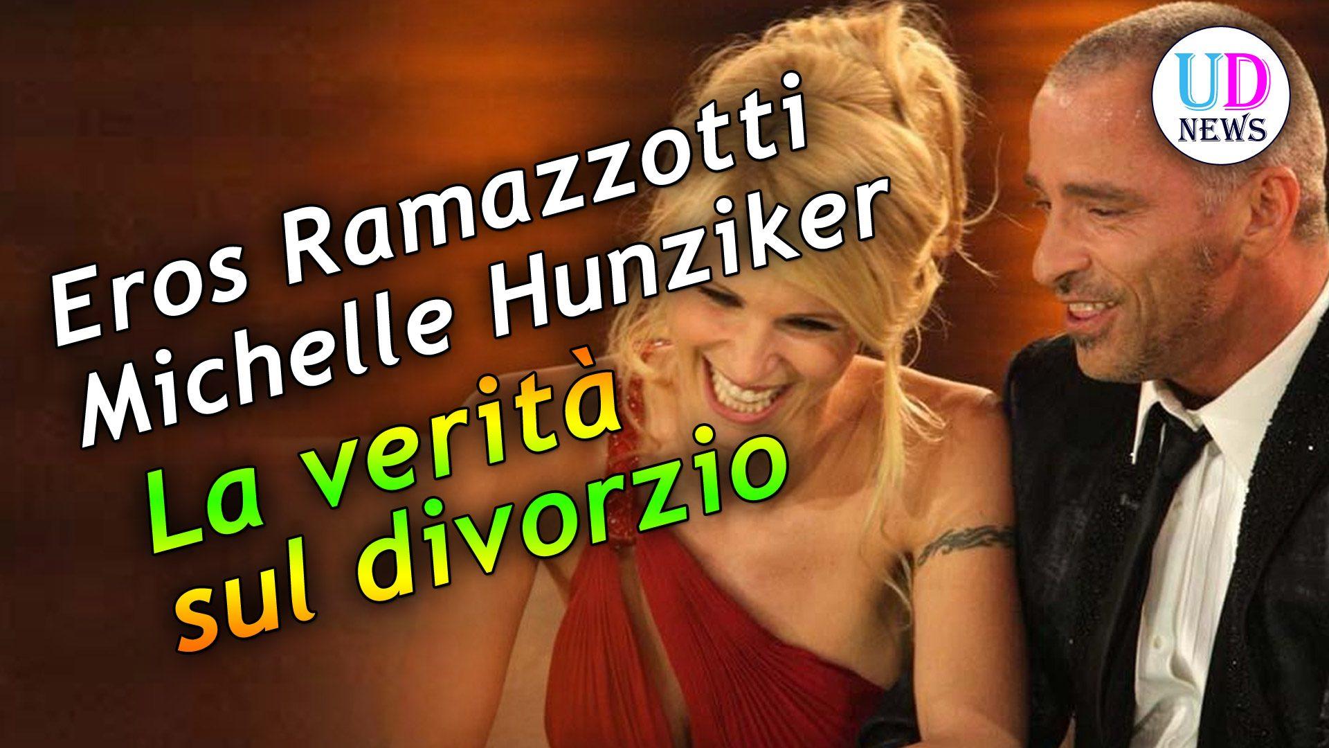 Michelle Hunziker and Eros Ramazzotti - Dating, Gossip