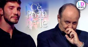 Gerry Scotti e Stefano De Martino a C'è Posta Per Te