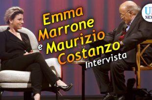 Maurizio Costanzo intervista Emma Marrone