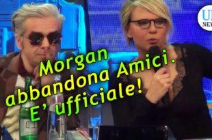 Amici Morgan abbandona il Talent