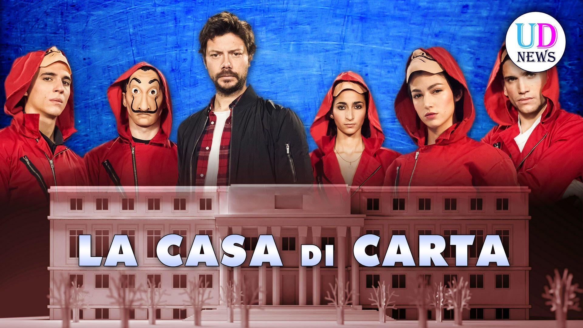 La casa di carta 3 nuova stagione trama e cast uomini for Quando esce la casa di carta 3