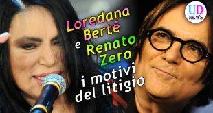 Loredana Bertè e Renato Zero