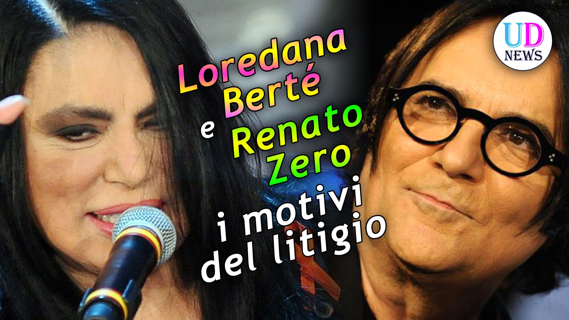 Loredana Bertè e Renato Zero: Ecco Perchè Hanno Litigato ...