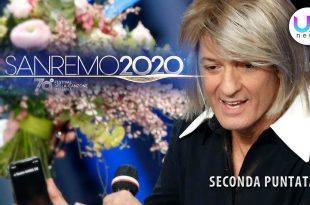 Sanremo 2020, Seconda Serata