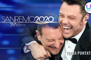 Sanremo 2020, Terza serata