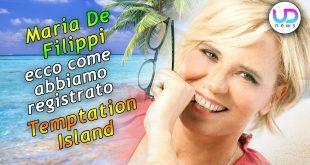 maria de filippi temptation island