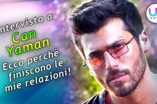 Intervista a Can Yaman