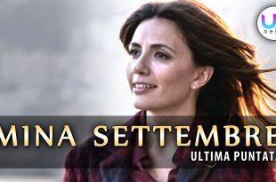 Mina Settembre, Ultima Puntata