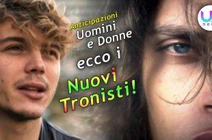 Anticipazioni Uomini e Donne: Ecco i Nuovi Tronisti, Giacomo e Massimiliano!