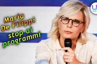 Stop ai Programmi di Maria De Filippi