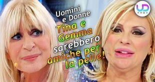 Uomini e Donne: Tina Cipollari e Gemma Galgani